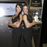 Sonia Ferrer y Cecilia Gómez en la presentación de la colección de joyas 'Diamonds'