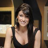 Sonia Ferrer posando como imagen de la colección de joyas 'Diamonds'