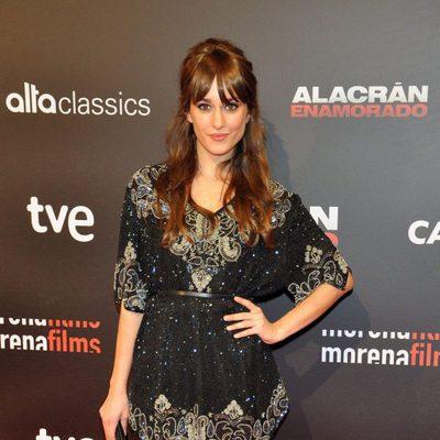 Silvia Alonso en el estreno de 'Alacrán enamorado' en Madrid