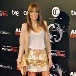 Lucia Hoyos en el estreno de 'Alacrán enamorado' en Madrid