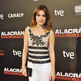 Adriana Ugarte en el estreno de 'Alacrán enamorado' en Madrid