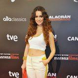 Alicia Sanz en el estreno de 'Alacrán enamorado' en Madrid