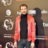 Julián Villagrán en el estreno de 'Alacrán enamorado' en Madrid