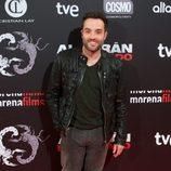 Daniel Guzman en el estreno de 'Alacrán enamorado' en Madrid