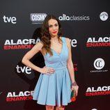 Nerea Garmendia en el estreno de 'Alacrán enamorado' en Madrid