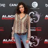 Cristina Pena en el estreno de 'Alacrán enamorado' en Madrid