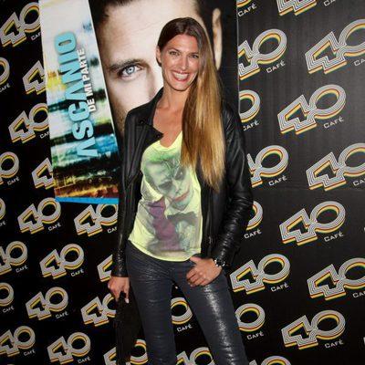 Laura Sánchez en el concierto de David Ascanio en Madrid