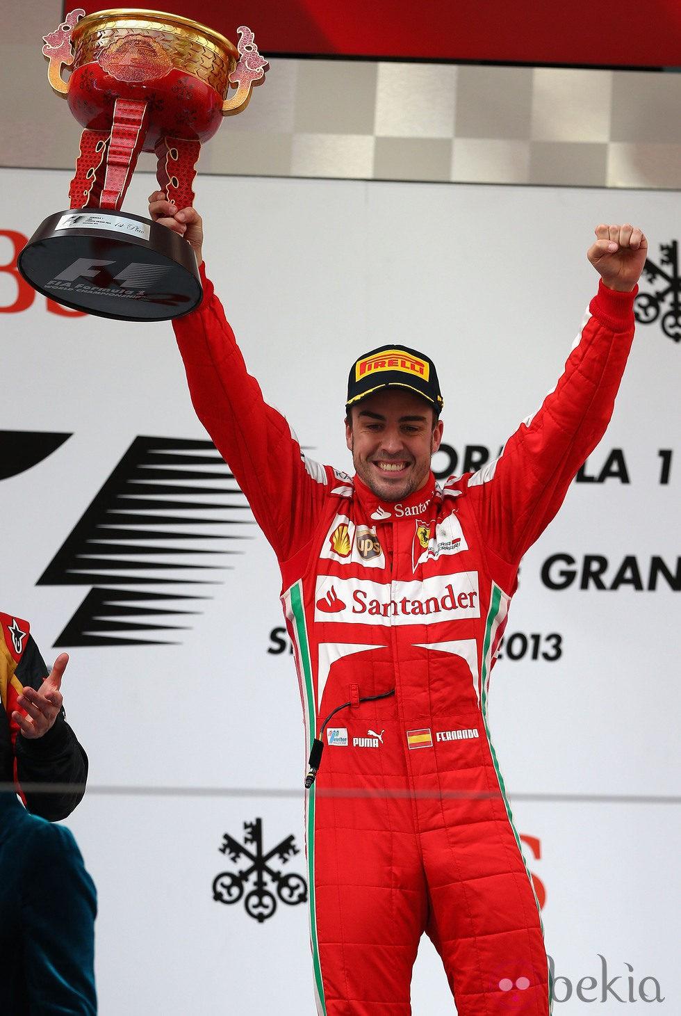 Fernando Alonso gana el Gran Premio de China 2013 de Fórmula 1