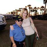 Danny DeVito y Melanie Griffith en el Festival de Coachella 2013