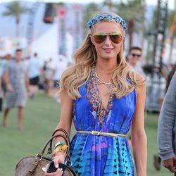 Paris Hilton en el Festival de Coachella 2013