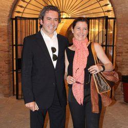 Sara Baras y José Serrano en la Encerrona de José María Manzanares