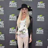 Kesha en la alfombra roja de los MTV Movie Awards 2013