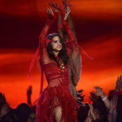 Selena Gomez en la gala de los MTV Movie Awards 2013