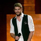 Liam Hemsworth en la gala de los MTV Movie Awards 2013