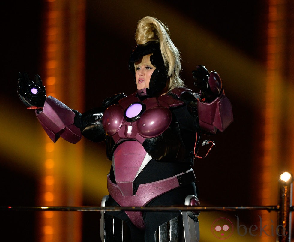 Rebel Wilson disfrazada en los MTV Movie Awards 2013