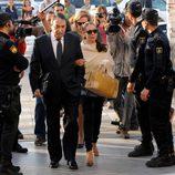 Isabel Pantoja llega a los Juzgados de Málaga para la lectura de la sentencia del 'caso Malaya'