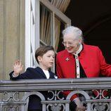 Margarita y Christian de Dinamarca celebran el 73 cumpleaños de la Reina Margarita