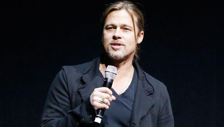 Brad Pitt presenta 'Guerra Mundial Z' en la CinemaCon 2013