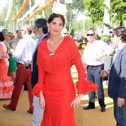 Lourdes Montes en la Feria de Abril 2013