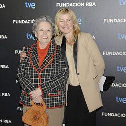 María Galiana y Ana Duato en la presentación del libro 'Cuéntame: Ficción y realidad'