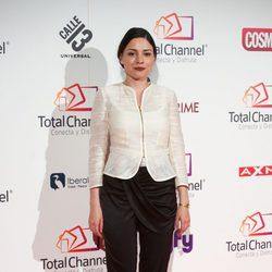 Ana Arias en la presentación de Total Channel en Madrid