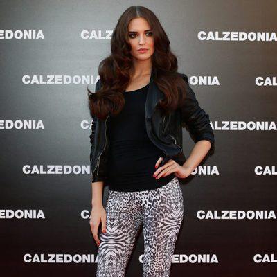 Clara Alonso en el Calzedonia Summer Show Forever Together