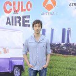 Raúl Fernández en el estreno de la segunda temporada de 'Con el culo al aire'
