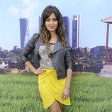 Hiba Abouk en el estreno de la segunda temporada de 'Con el culo al aire'