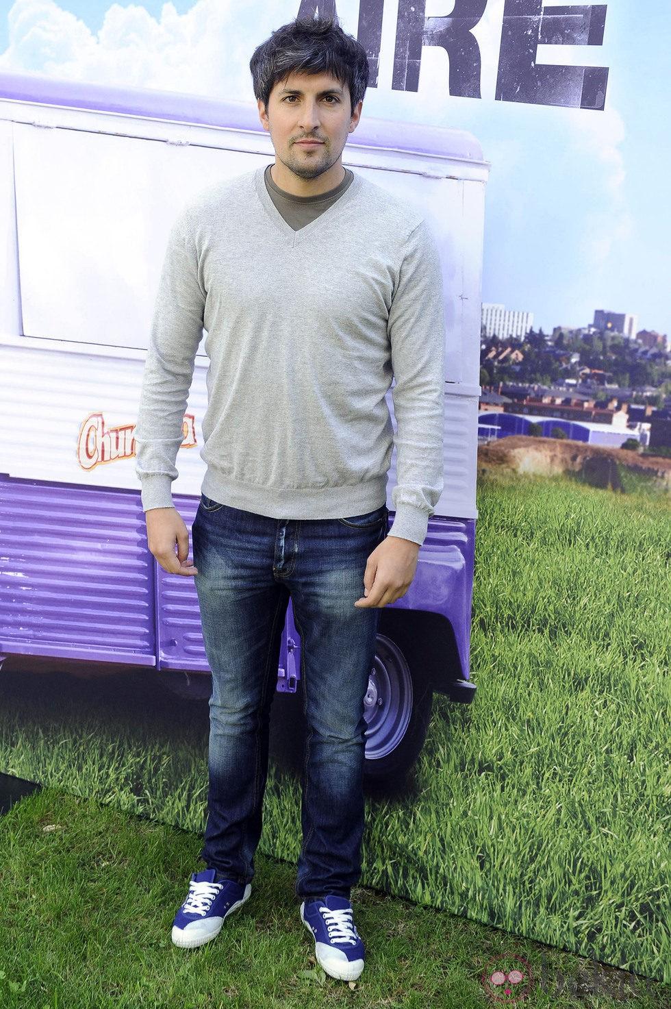 Javier Antón en el estreno de la segunda temporada de 'Con el culo al aire'