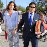 Fran Rivera y Lourdes Montes en los toros en Sevilla