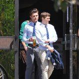 Zac Efron y Dave Franco en el rodaje de 'Townies'