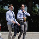 Zac Efron y Dave Franco juntos en el rodaje de 'Townies'