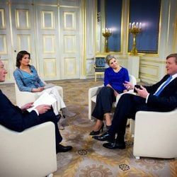 Guillermo y Máxima de Holanda conceden una entrevista antes de la coronación