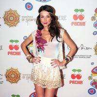 Raquel Jiménez en la fiesta Flower Power 2013