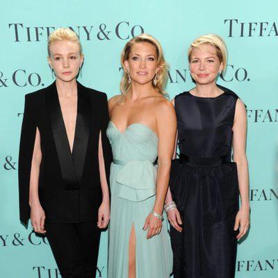Carey Mulligan, Kate Hudson y Michelle Williams en la fiesta de Tiffany & Co