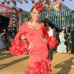 Lucía Hoyos en la Feria de Abril 2013