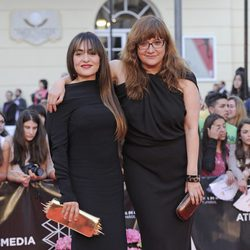 Candela Peña e Isabel Coixet en la apertura del Festival de Málaga 2013