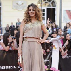 Sandra Cervera en la apertura del Festival de Málaga 2013