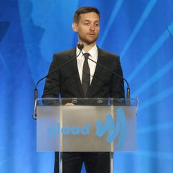 Tobey Maguire en los Glaad Media Awards 2013 en Los Angeles