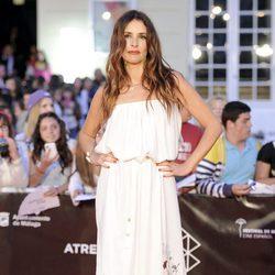Patricia Vico en la entrega del Premio Málaga SUR del Festival de Málaga 2013