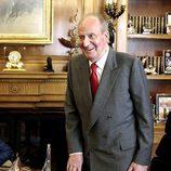 El Rey Juan Carlos retoma su agenda tras su operación de hernia discal