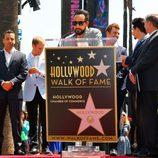 A.J. McLean dedica unas palabras en el Paseo de la Fama de Hollywood