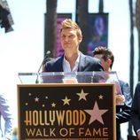 Nick Carter dedica unas palabras en el Paseo de la Fama de Hollywood