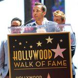 Howie Dorough dedica unas palabras en el Paseo de la Fama de Hollywood