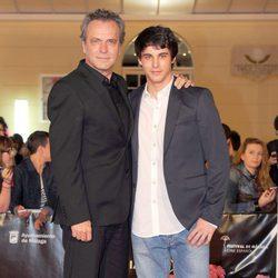 José Coronado y David Solans en el Festival de Málaga 2013