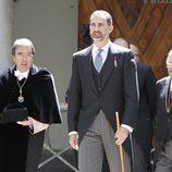El Príncipe Felipe en la entrega del Premio Cervantes 2012