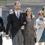 Los Príncipes Felipe y Letizia en la entrega del Premio Cervantes 2012