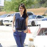 Adriana Ugarte en la promoción de 'Combustión'