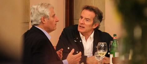 Carlos Fitz-James Stuart y Alfonso Díez comen en la Embajada de España en Roma