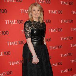 Arianna Huffington acudió a la gala de la revista Time 2013